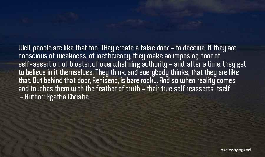 Deceive Quotes By Agatha Christie
