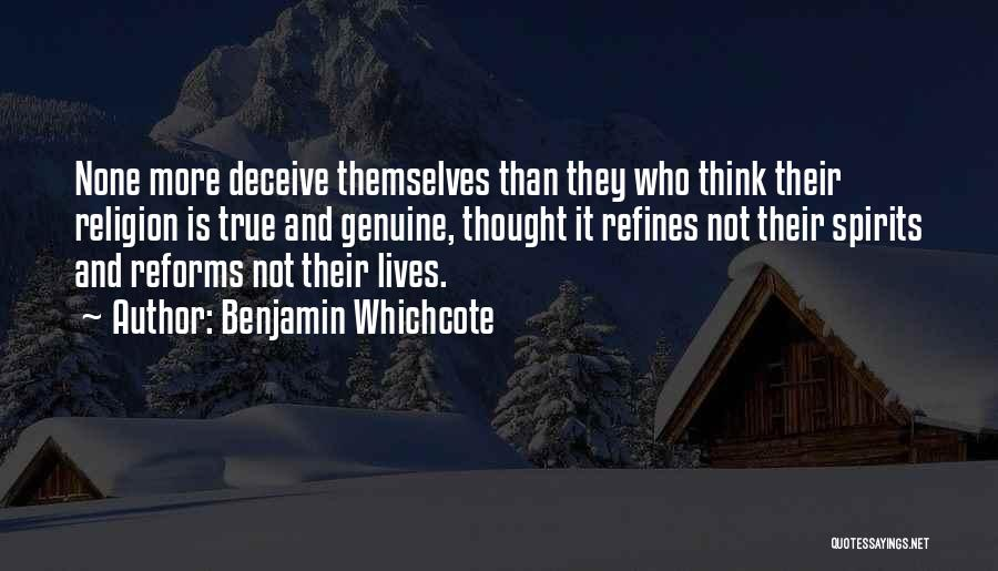 Deceive Quotes By Benjamin Whichcote