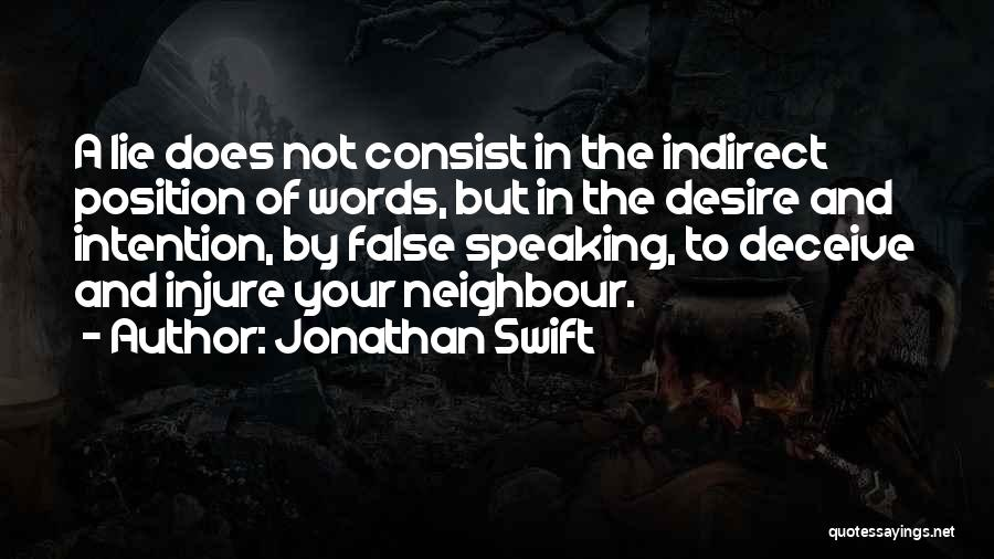 Deceive Quotes By Jonathan Swift