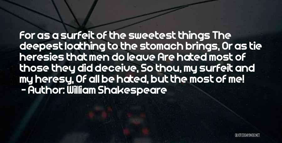 Deceive Quotes By William Shakespeare