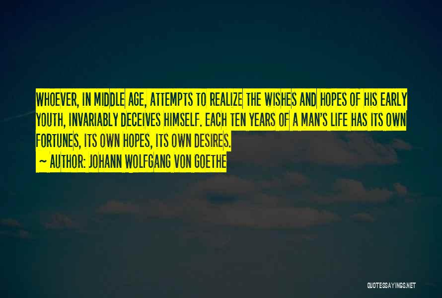 Deceives Quotes By Johann Wolfgang Von Goethe