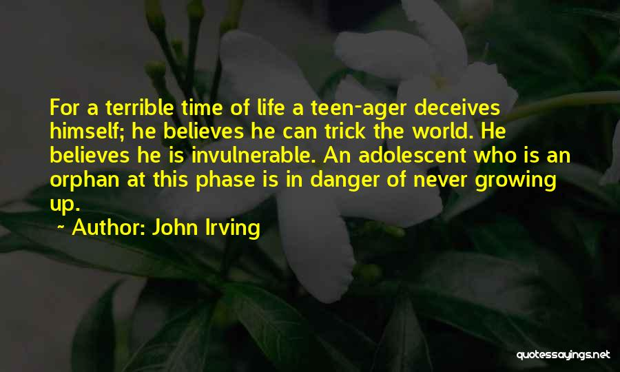 Deceives Quotes By John Irving