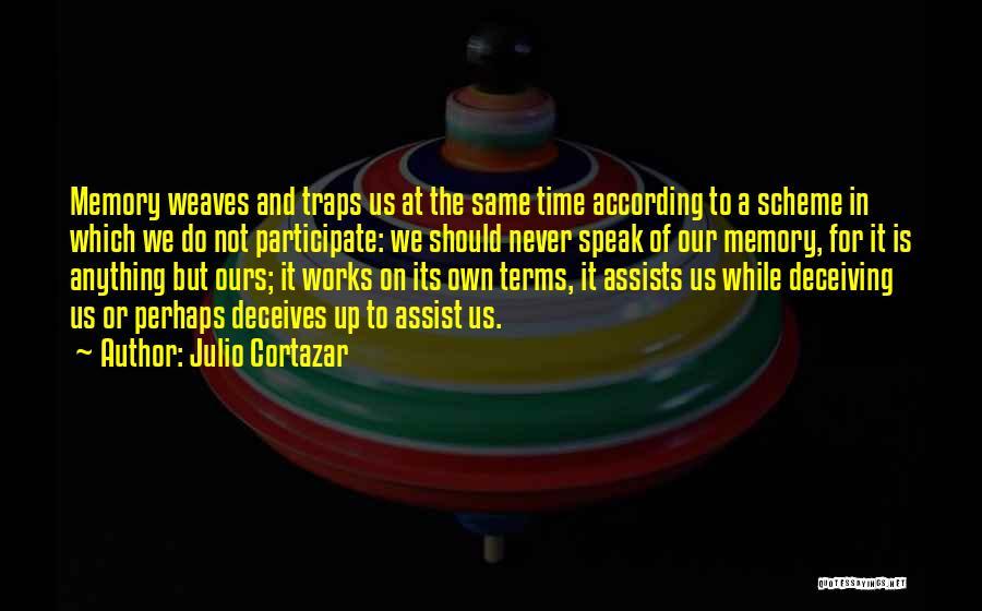 Deceives Quotes By Julio Cortazar
