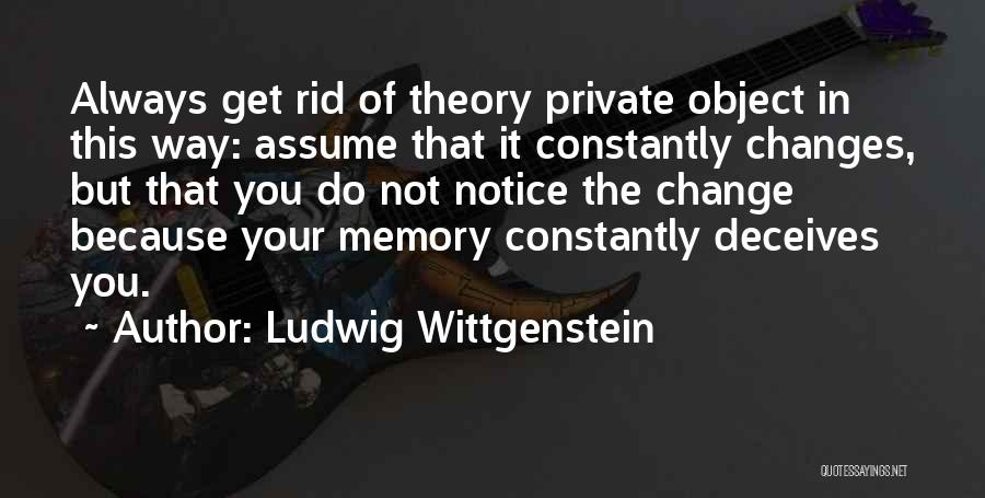 Deceives Quotes By Ludwig Wittgenstein