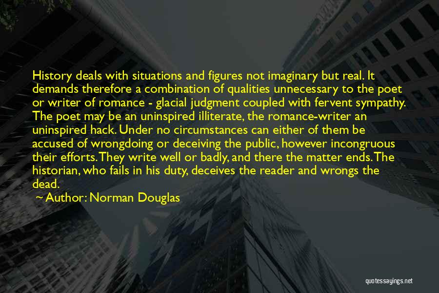 Deceives Quotes By Norman Douglas