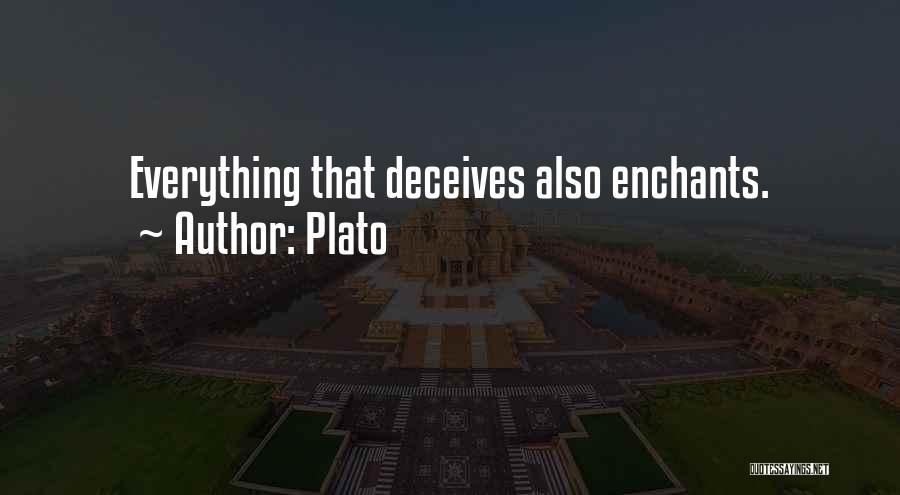 Deceives Quotes By Plato