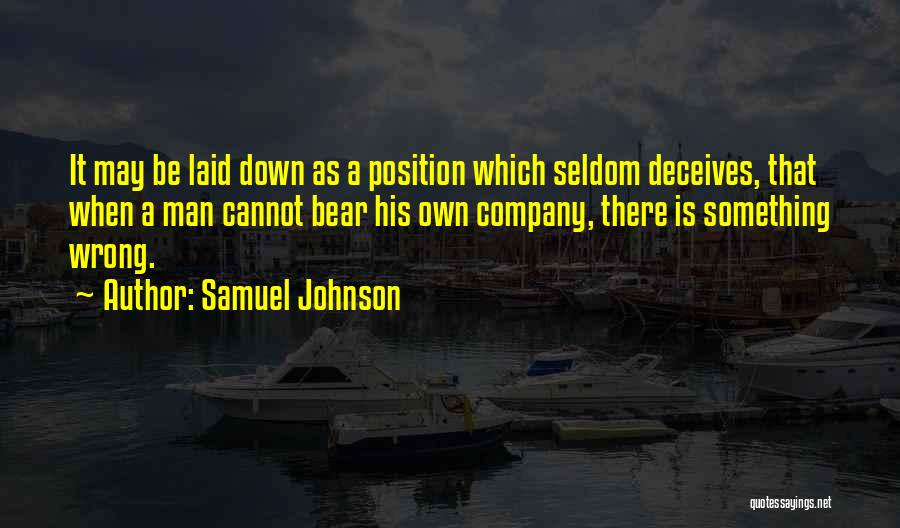 Deceives Quotes By Samuel Johnson