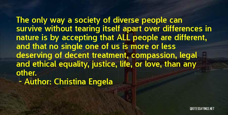 Decent Life Quotes By Christina Engela