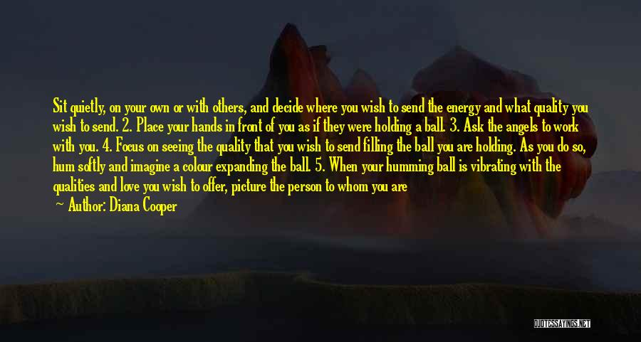 Decide Love Quotes By Diana Cooper