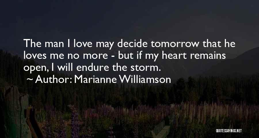 Decide Love Quotes By Marianne Williamson