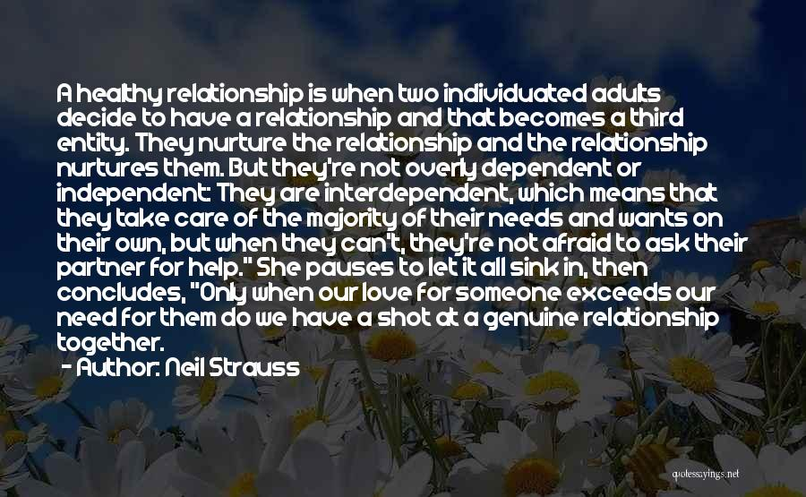 Decide Love Quotes By Neil Strauss