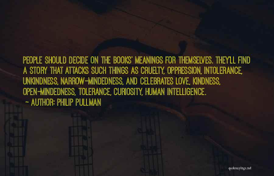 Decide Love Quotes By Philip Pullman