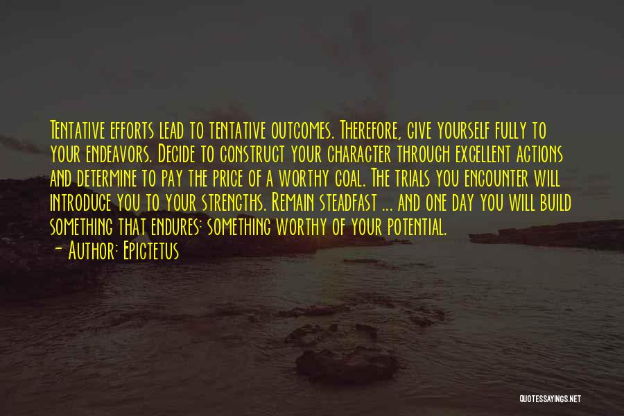 Decide Yourself Quotes By Epictetus