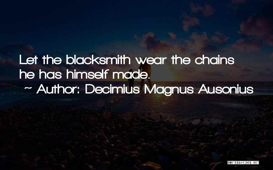 Decimius Magnus Ausonius Quotes 1404657