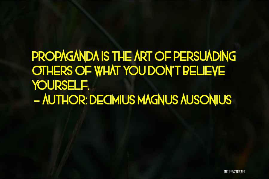 Decimius Magnus Ausonius Quotes 1717250