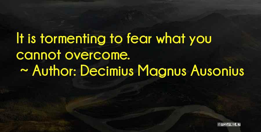 Decimius Magnus Ausonius Quotes 1812644