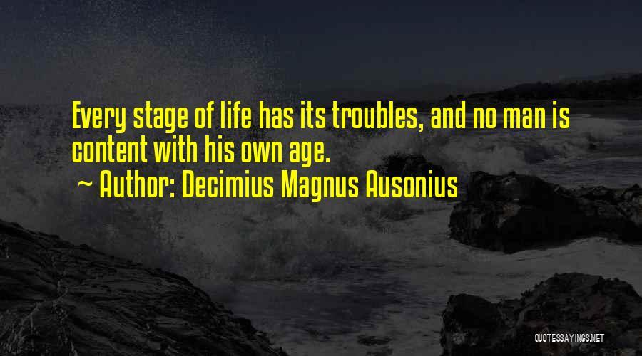 Decimius Magnus Ausonius Quotes 616094