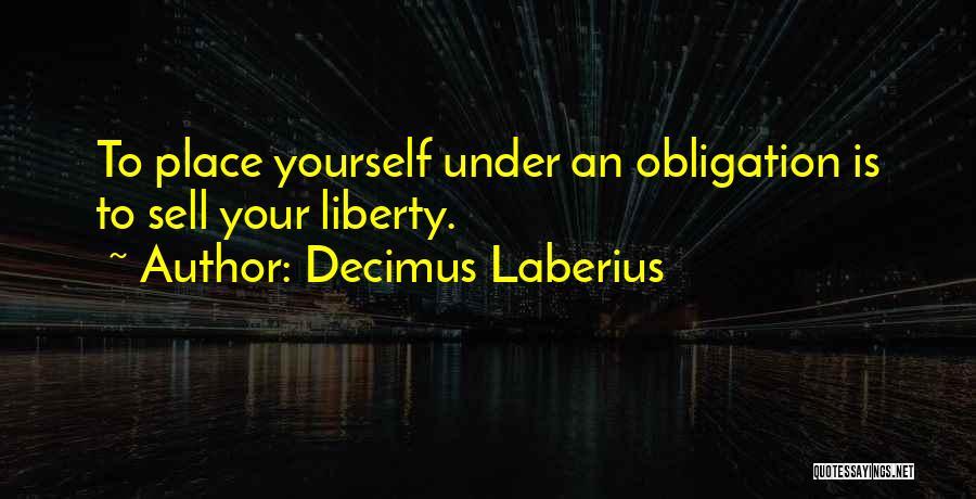 Decimus Laberius Quotes 929625
