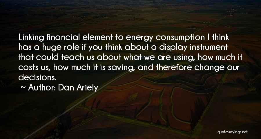 Decision And Change Quotes By Dan Ariely