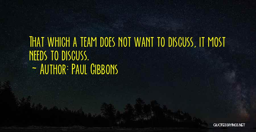 Decision And Change Quotes By Paul Gibbons