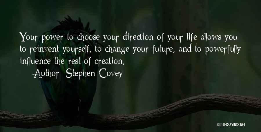 Decision And Change Quotes By Stephen Covey