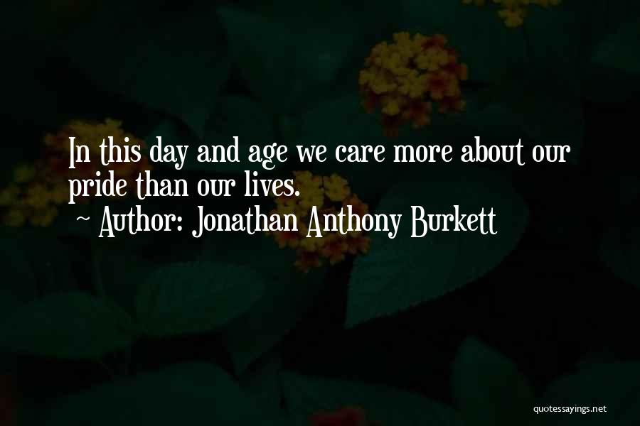 Decisions In Life Quotes By Jonathan Anthony Burkett