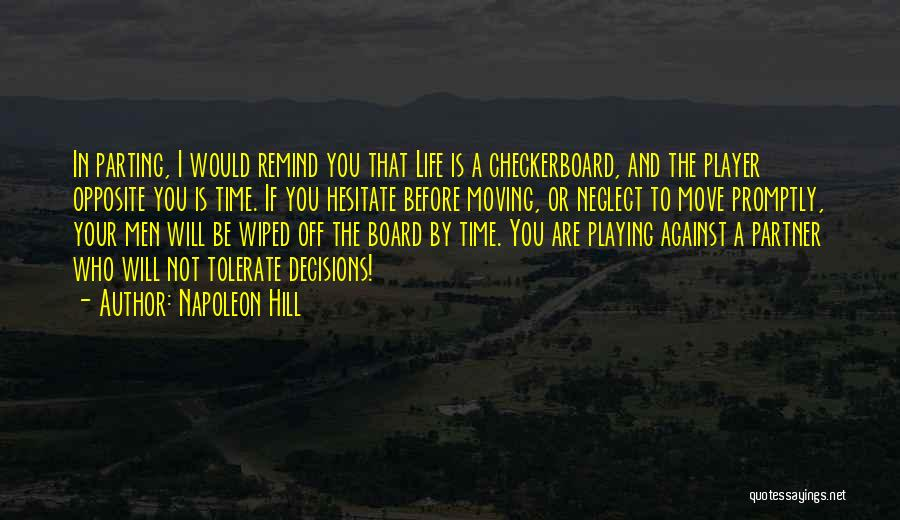Decisions In Life Quotes By Napoleon Hill