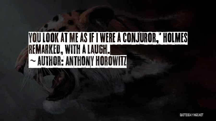 Deduction Quotes By Anthony Horowitz