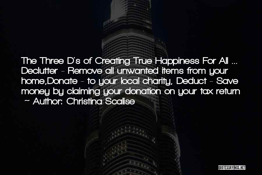 Deduction Quotes By Christina Scalise