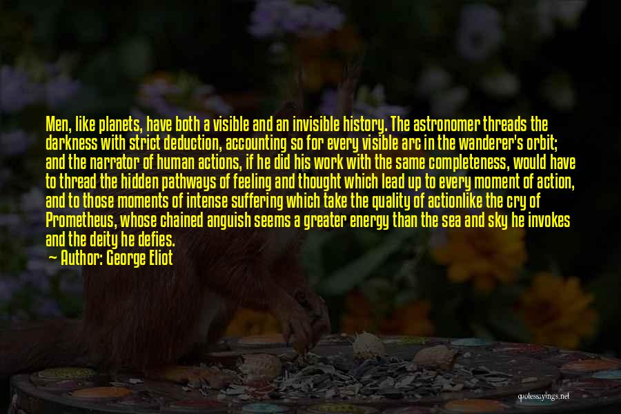 Deduction Quotes By George Eliot