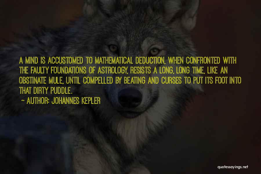 Deduction Quotes By Johannes Kepler