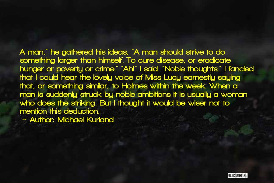 Deduction Quotes By Michael Kurland