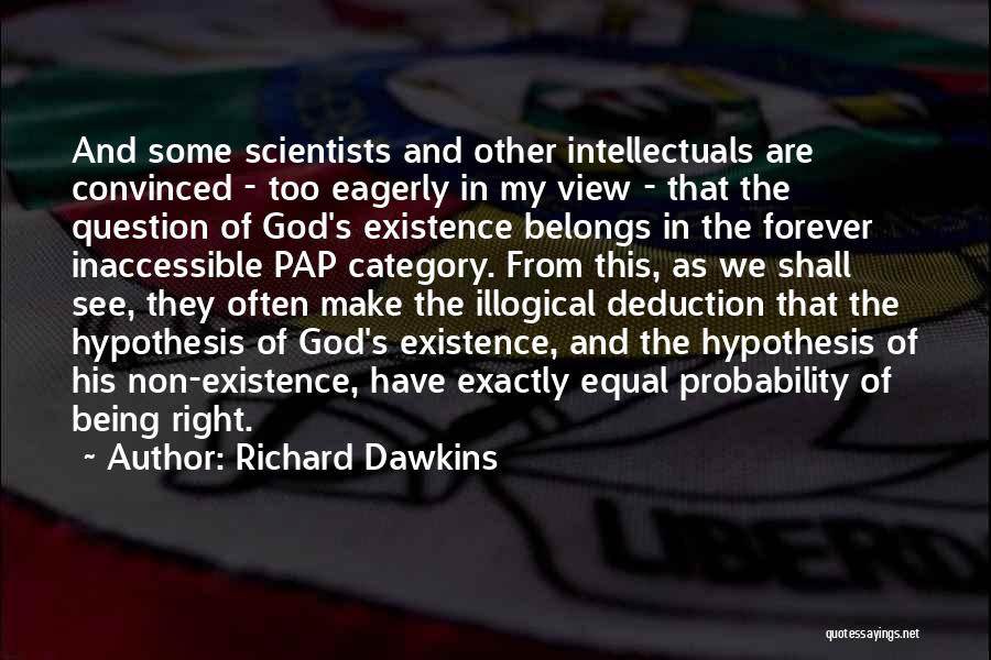 Deduction Quotes By Richard Dawkins