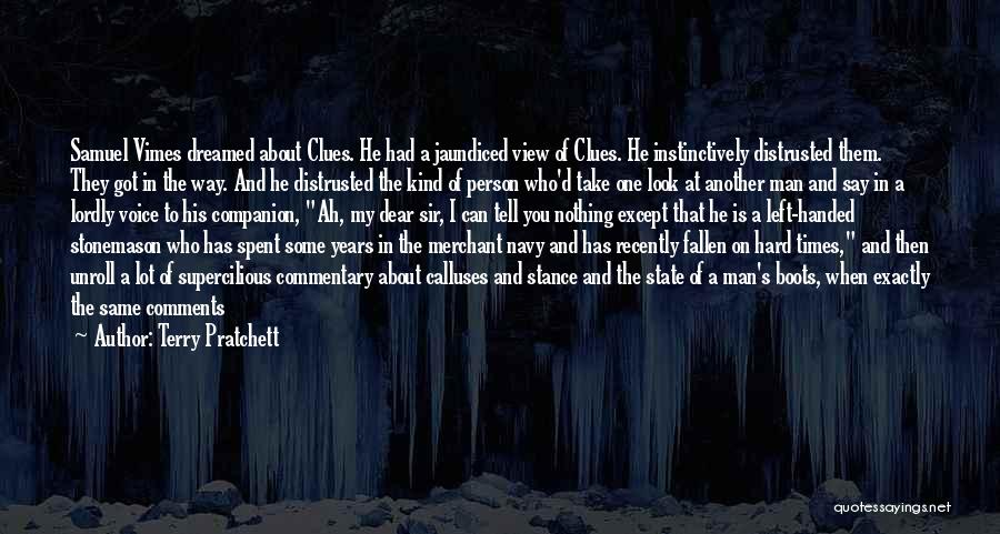Deduction Quotes By Terry Pratchett