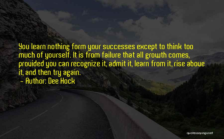 Dee Hock Quotes 158665