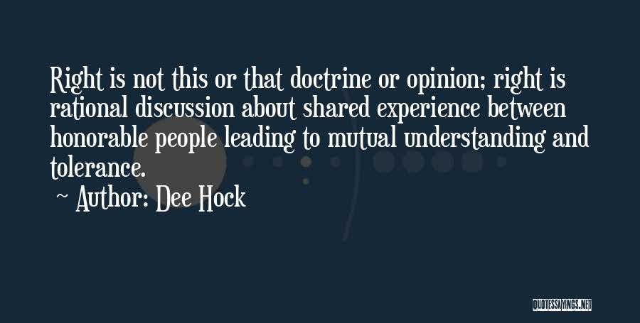 Dee Hock Quotes 166772