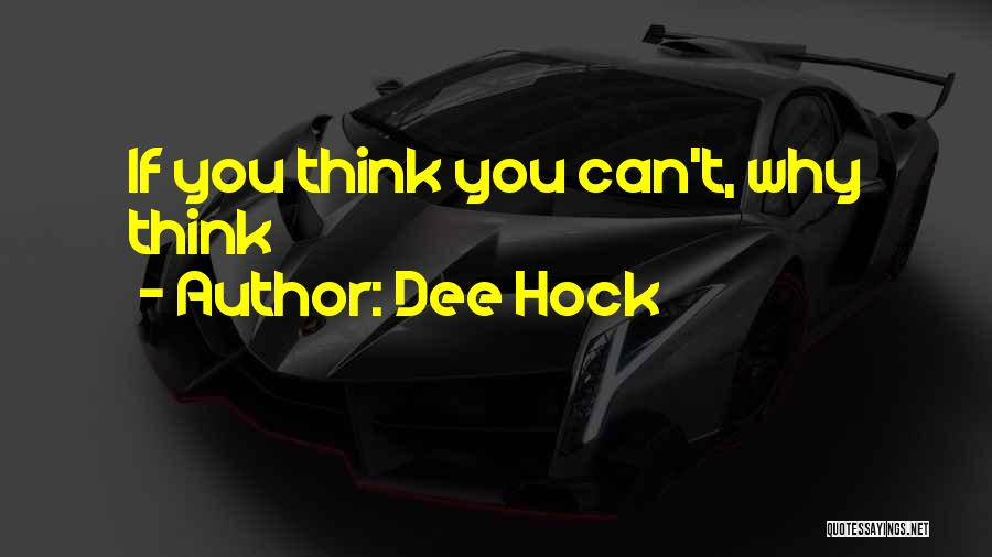Dee Hock Quotes 375427