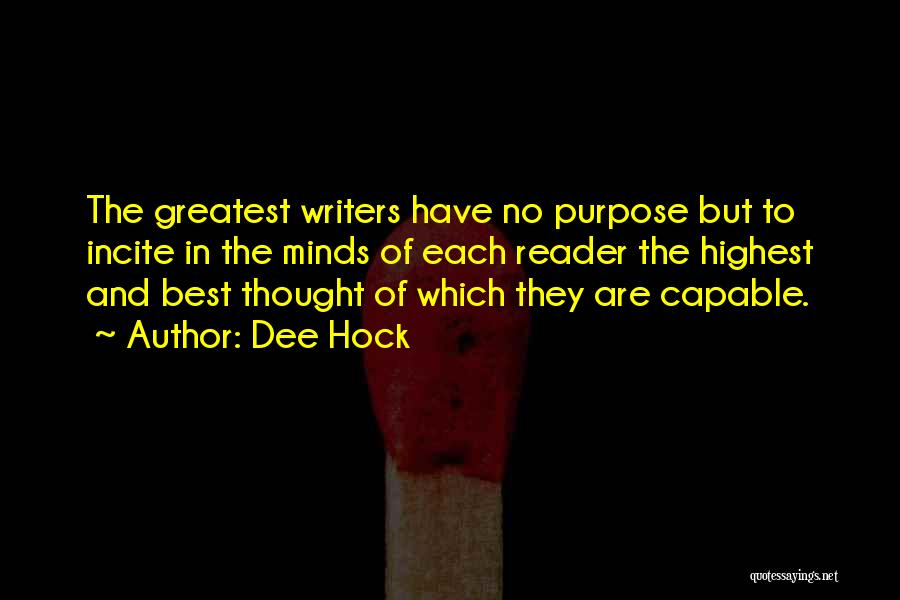 Dee Hock Quotes 802973
