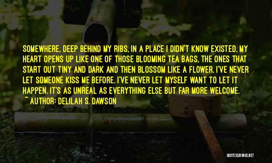 Deep Dark Love Quotes By Delilah S. Dawson