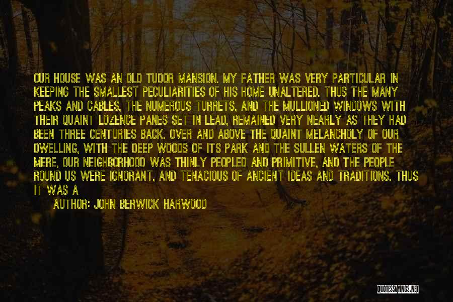 Deep Dark Love Quotes By John Berwick Harwood