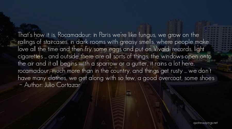 Deep Dark Love Quotes By Julio Cortazar