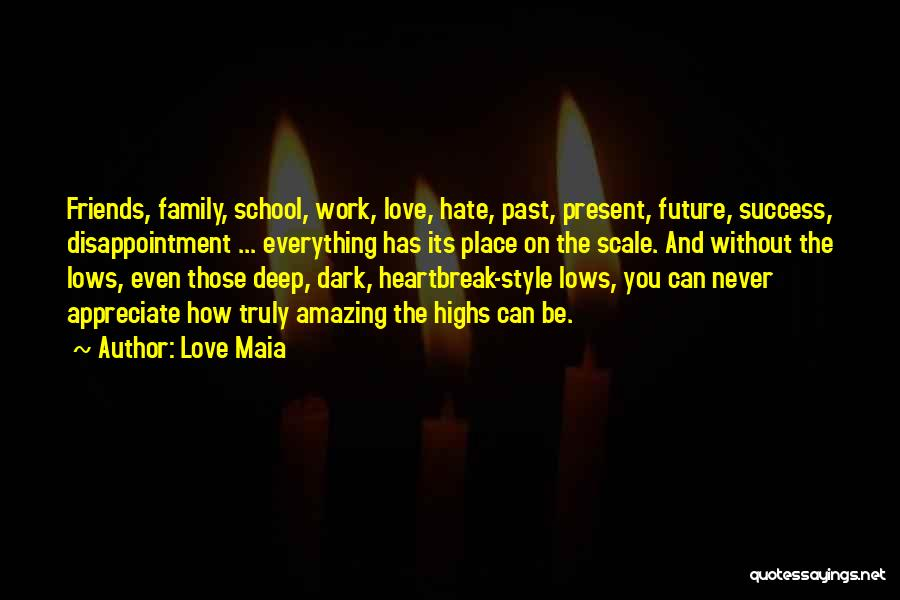 Deep Dark Love Quotes By Love Maia