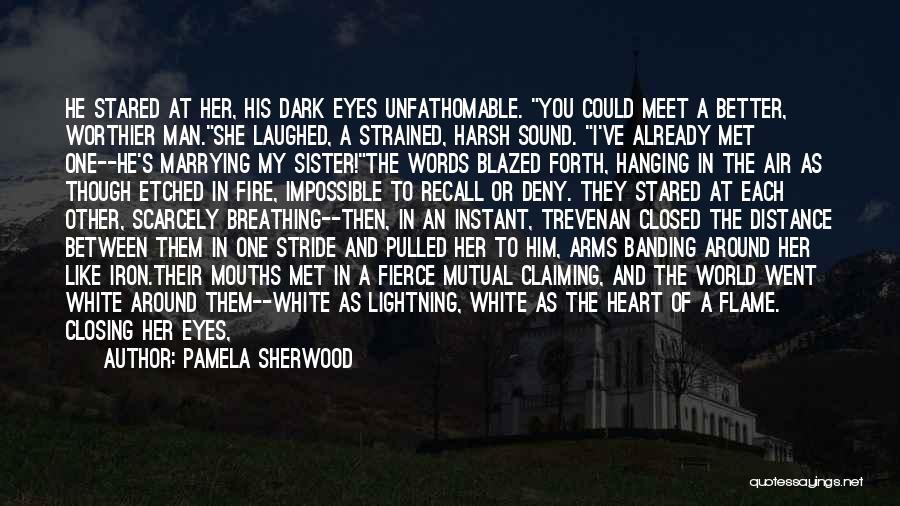 Deep Dark Love Quotes By Pamela Sherwood