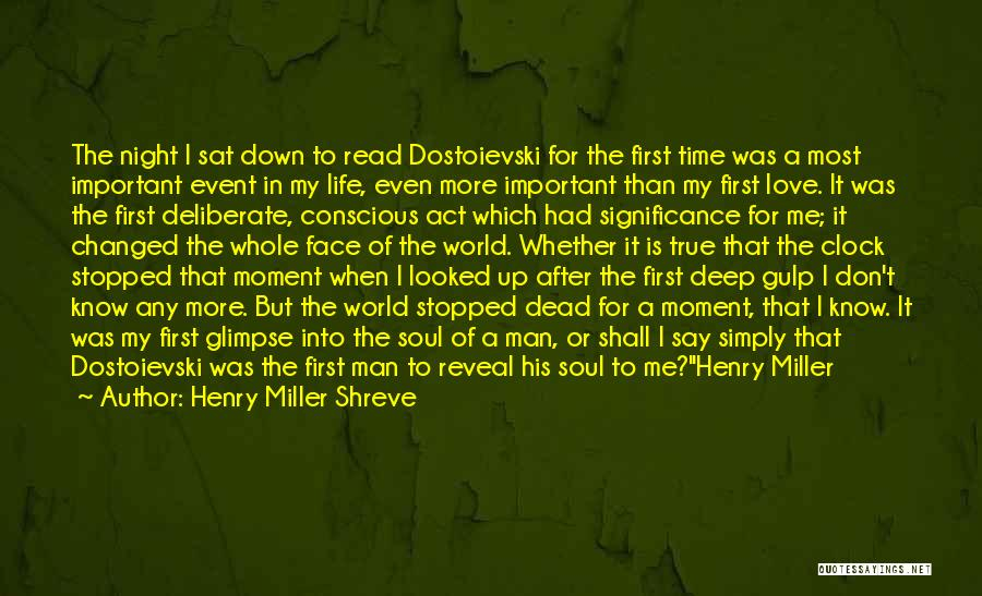 Deep Literature Love Quotes By Henry Miller Shreve