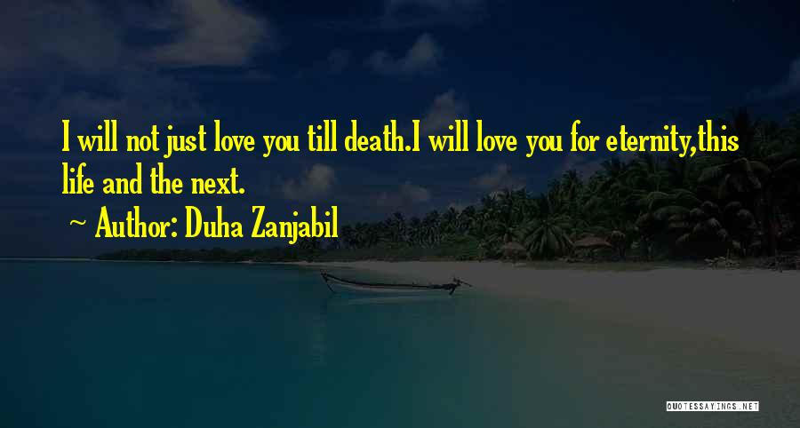 Deep Love Thoughts Quotes By Duha Zanjabil