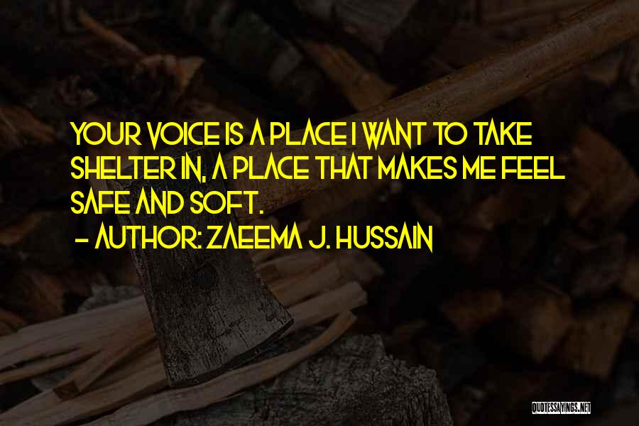 Deep Love Thoughts Quotes By Zaeema J. Hussain