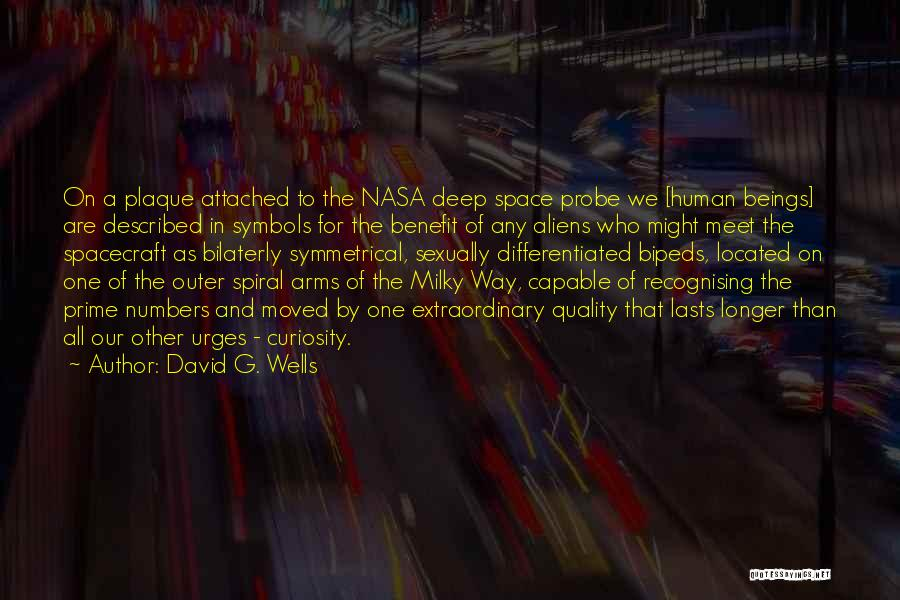 Deep Wells Quotes By David G. Wells