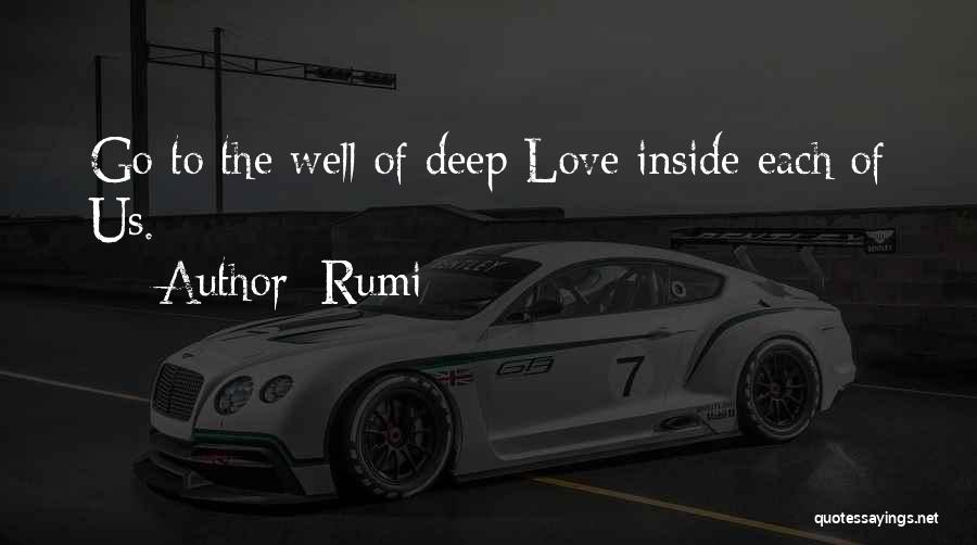 Deep Wells Quotes By Rumi