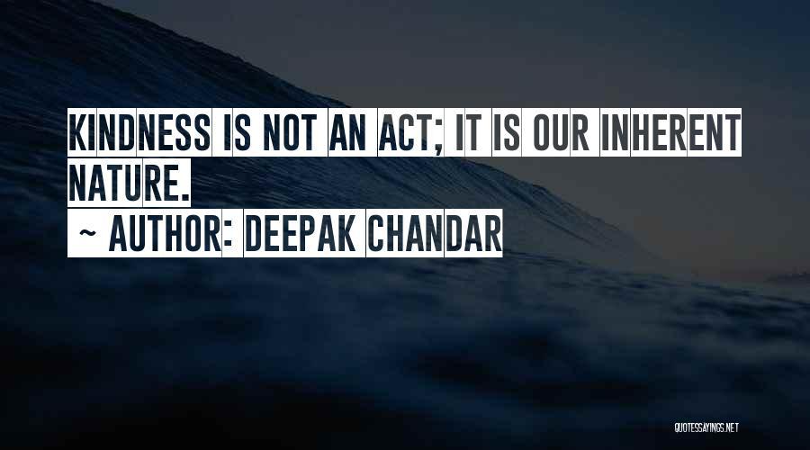 Deepak Chandar Quotes 945858