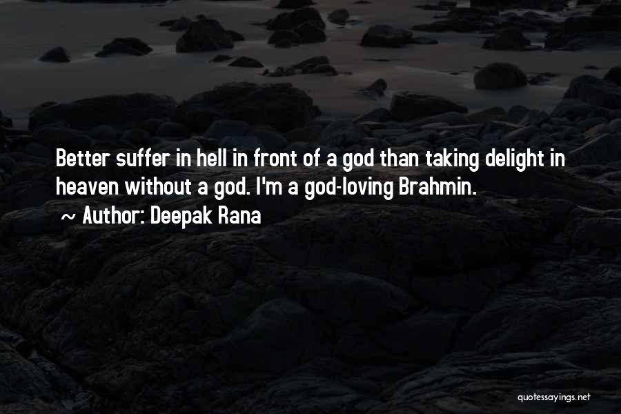 Deepak Quotes By Deepak Rana